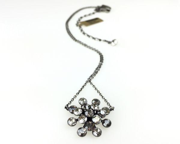 Konplott Magic Fireball crystal satin Halskette mit Anhänger kristall, grau #5450527778336