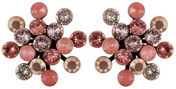 Konplott Magic Fireball Ohrstecker klassisch in pink/rosa #5450543754512