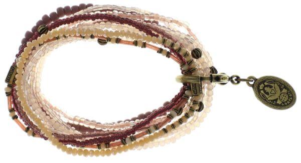 Konplott Petit Glamour d'Afrique Armband rosa/ lila #5450543689173