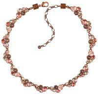 Konplott Petit Glamour steinbesetzte Halskette in pink