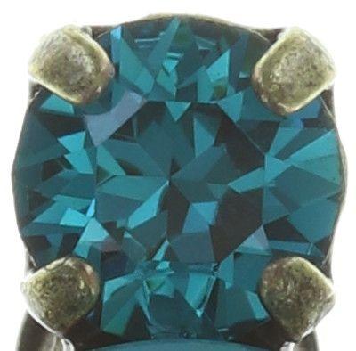 Konplott Ballroom Classic Glam Ohrstecker in blau/grün #5450543726694