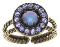Simply Beautiful Ring in blau