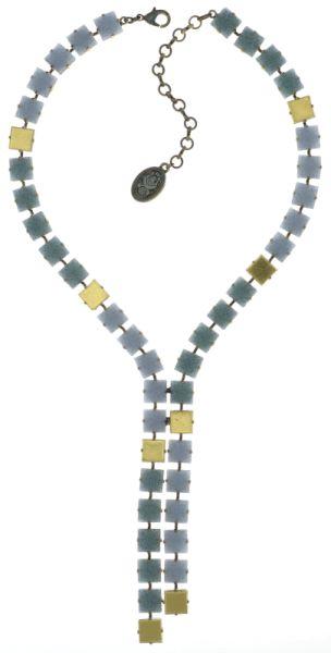 Konplott Cleo HalsketteY-Form in hellblau #5450543725116