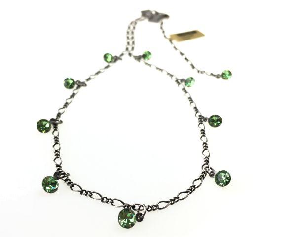 Konplott Tutui peridot Halskette steinbesetzt #5450527641135