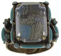 Konplott Color on the Rocks grüner Ring #5450543645285
