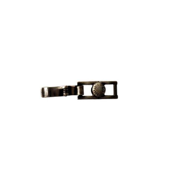 Konplott Armband Verlängerung klein in dunklem silber/schwarz #5450527800501