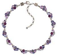 Konplott Petit Glamour steinbesetzte Halskette in lila