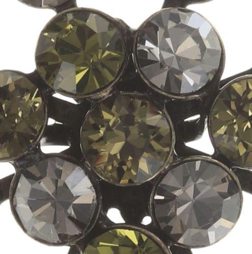Konplott Magic Fireball Ohrstecker grün/ kristall #5450543683089