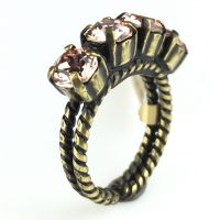 Konplott Colour Snake Ring in Vintage Rose #5450527640930