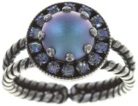 Simply Beautiful Ring in hellblau