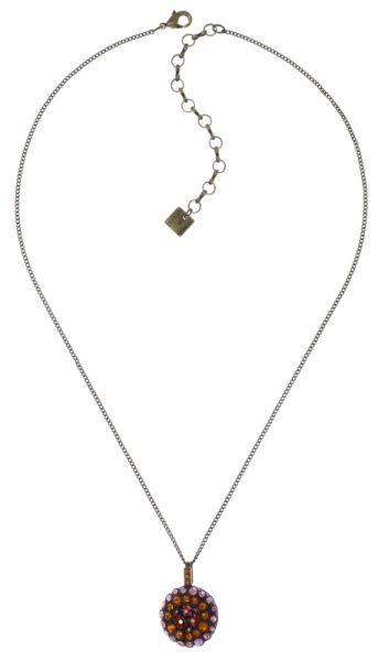 Konplott Inside Out Halskette mit Anhänger Größe S in orange #5450543638867