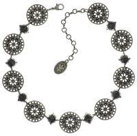 Konplott Ice Rosone Halskette silber #5450543667737