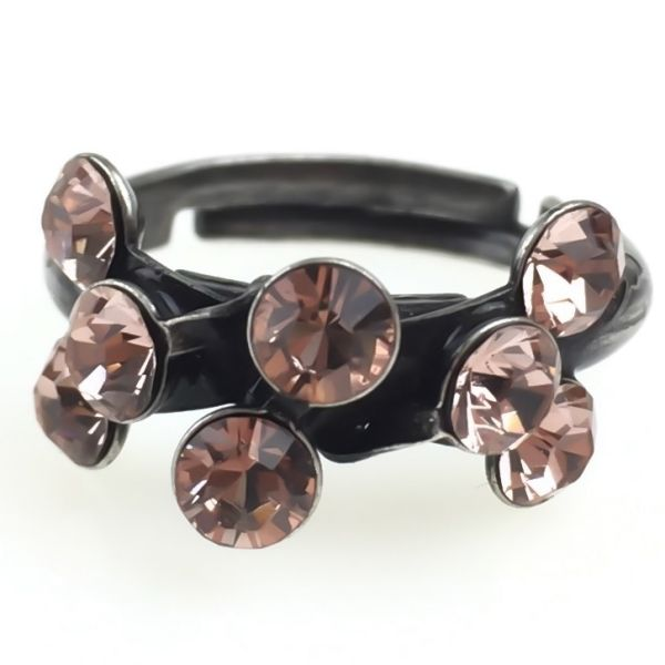 Konplott Magic Fireball 8 Stein Ring in vintage rose #5450527611978