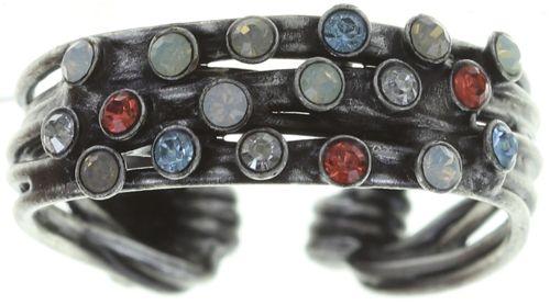 Konplott Cages Ring pastel multi Silberfarben #5450543749525