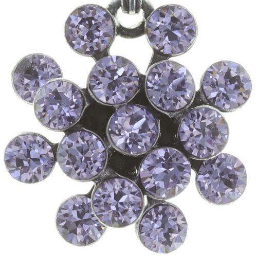 Konplott Magic Fireball Halskette mit Anhänger Mini in Lila/Violet #5450543721422