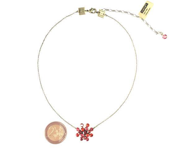 Konplott Magic Fireball Halskette mit Anhänger in multi rot #5450543222127