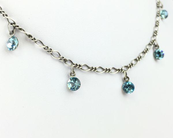 Konplott Tutui aquamarine Halskette steinbesetzt #5450527641197