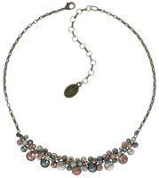 Konplott Water Cascade steinbesetzte Halskette in pastel multi #5450543685182