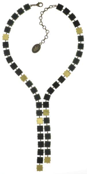 Konplott Cleo Halskette Y-Form in grau #5450543724911
