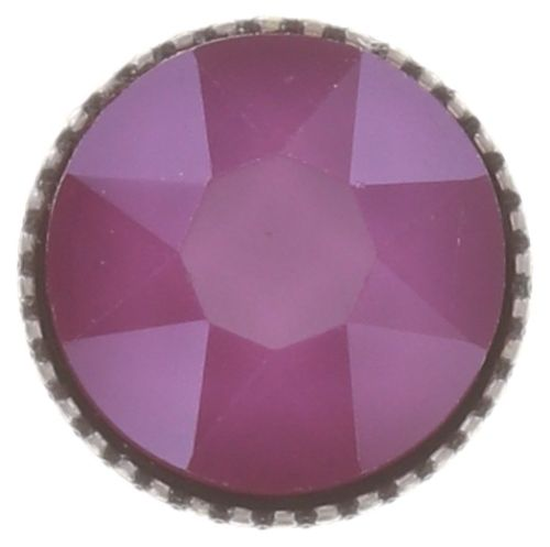 Konplott Black Jack Ohrstecker klassisch groß in peony pink, crystal #5450543730660