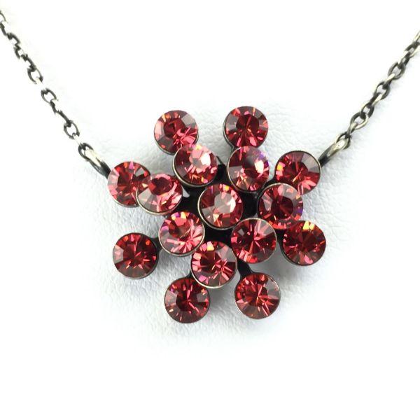 Magic Fireball Halskette mit Anhänger in indian pink, rot/pink