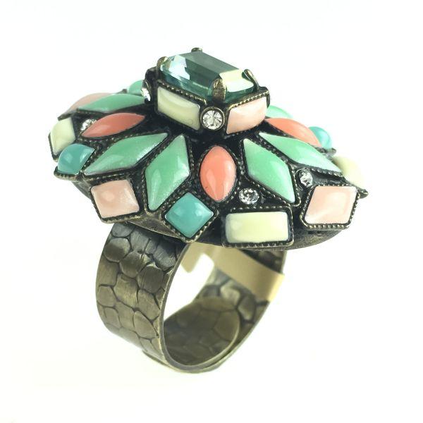 Konplott Marrakesch grüner Ring #5450543633916