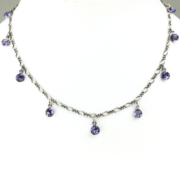 Konplott Tutui tanzanite Halskette steinbesetzt, violett #5450527274234