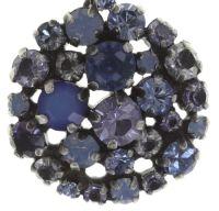 Konplott Ballroom blaue Halskette mit Anhänger