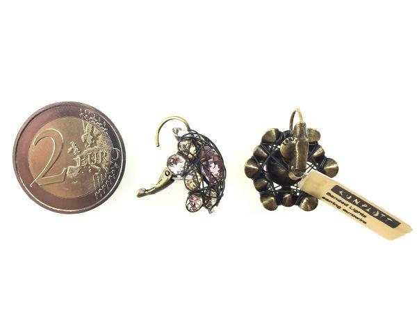 Konplott Bended Lights Ohrhänger mit Klappverschluss in beige/vintage rose #5450527759519