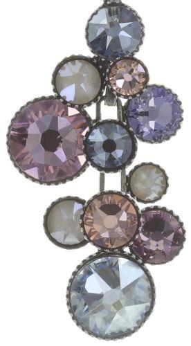 Water Cascade Halskette mit Anhänger in lila
