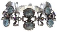 Konplott Dracula Bride Armband in hellblau #5450543674674