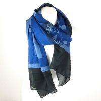 Konplott Schal Halstuch in blau/türkis #5450543538358