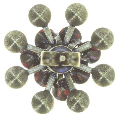 Konplott Magic Fireball Ohrstecker klassisch in coralline #5450543765853