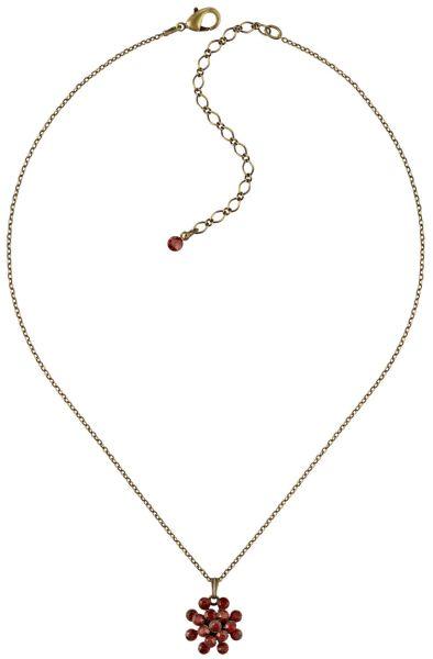 Magic Fireball Halskette mini in rot