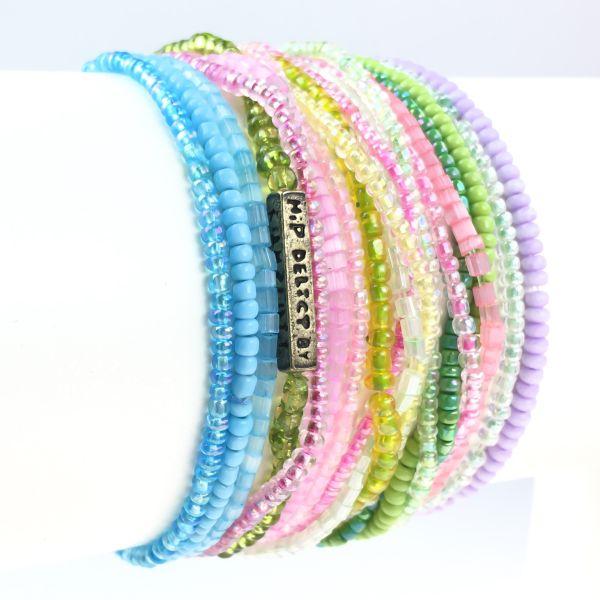 Konplott Petit Glamour d´ Afrique buntes Armband elastisch #5450527327343