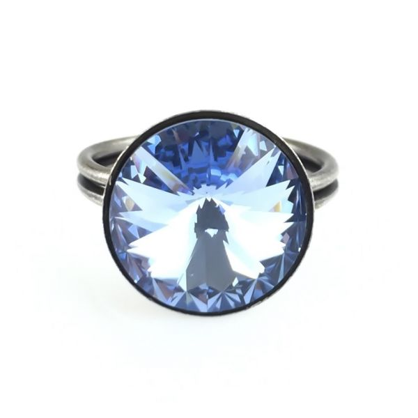 Konplott Rivoli light sapphire Ring #5450527495387