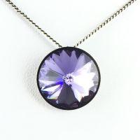 Konplott Rivoli lila Halskette mit Anhänger