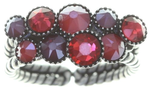 Konplott Water Cascade Ring in coralline #5450543754116