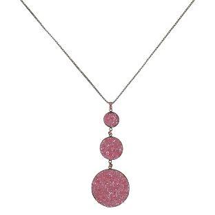 Konplott Studio 54 Halskette lang in pink Messing #5450543748771