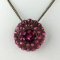 Inside Out pinke Halskette mit Anhänger