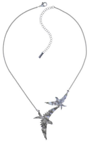 Konplott The Sparrow Halskette Größe M,S in silber #5450543750019