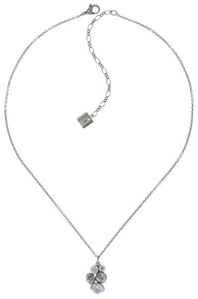 Konplott Petit Glamour Halskette mit Anhänger in weiß #5450543760216