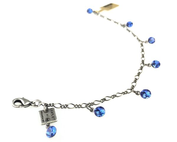 Konplott Tutui sapphire Armband verschließbar #5450527591515