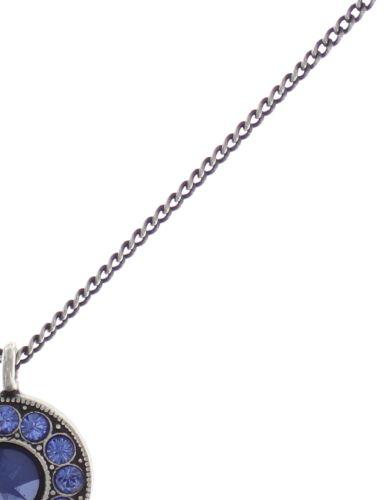 Konplott Spell on You Halskette mit Anhänger in blau Silberfarben #5450543734903