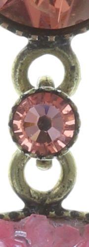 Konplott Studio 54 Ohrstecker in pink Messing Größe M #5450543748740