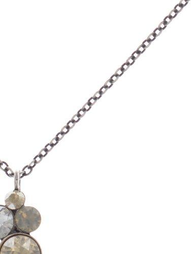 Konplott Petit Glamour Halskette mit Anhänger in beige #5450543726878