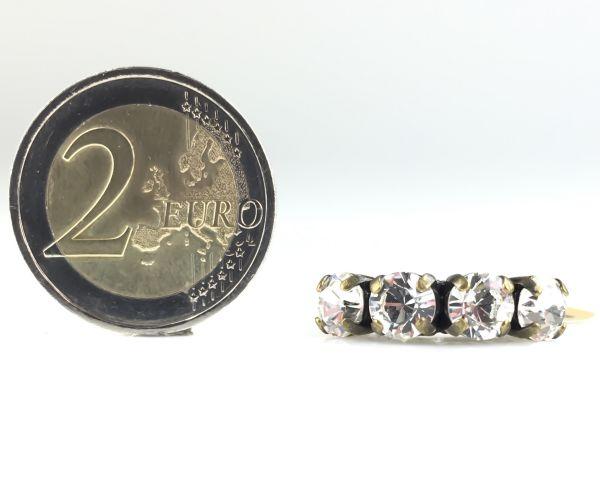 Konplott Colour Snake Ring in Crystal #5450527129084