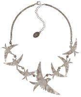 Konplott The Sparrow Halskette Größe L,M in silber