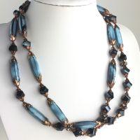 Konplott Pineapple blaue Halskette #5450543620428