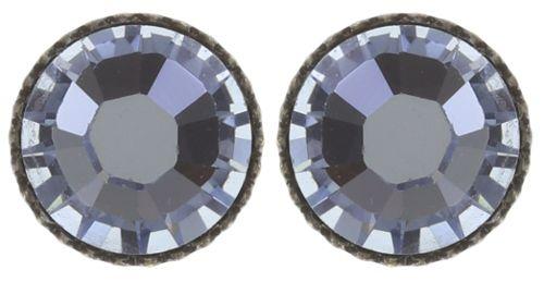 Konplott Black Jack Ohrstecker in sapphire blau #5450527797436